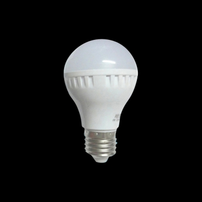 12W White PC E27  LED Globe Bulb 240lm 6000K