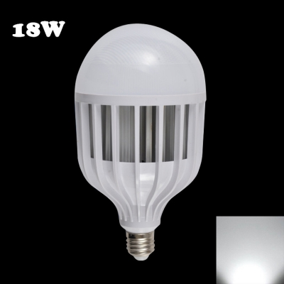 18W 72Leds E14  6000K LED Globe Bulb PC Material