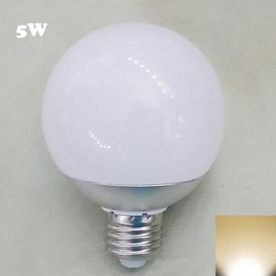 Chrome E27 5W 2700K LED Globe Bulb