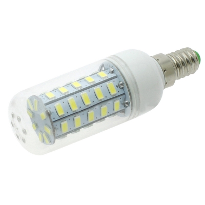 E14 5W 48Leds  220V 6000K LED Corn Bulb