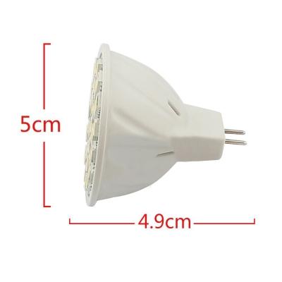MR16 3.6W 9-30V 3000K 30-5050SMD