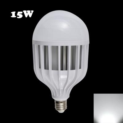 220V 72Leds E27 15W 6000K LED Globe Bulb PC Material