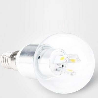 3W 3Leds E27 LED Globe Bulb  Warm White