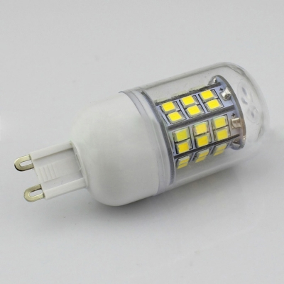 5W Clear Cool White 12-24V G9  LED Corn Bulb