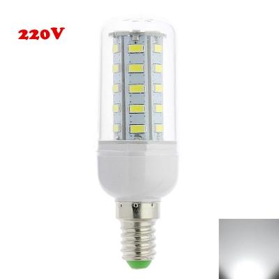 E12 6000K Clear 4W 220V LED Corn Bulb