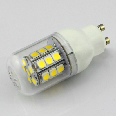 Cool White 2 Pcs  GU10 3W 85-265V 27-SMD 5050