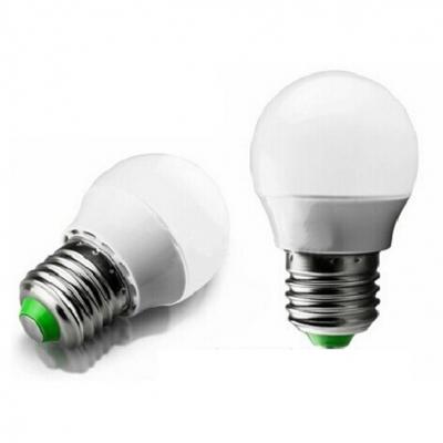 10Pcs 44*75mm E27 3W 220V Cool White Light LED Bulb