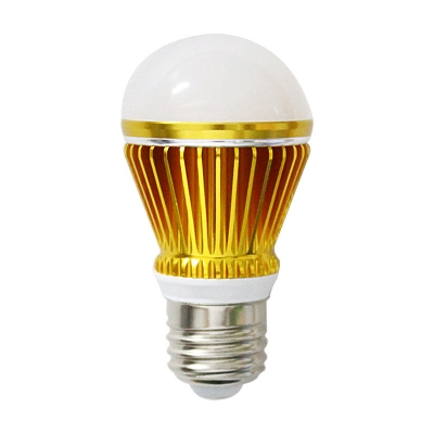 Golden 300lm E27 3W  Warm White Light Globe Bulb