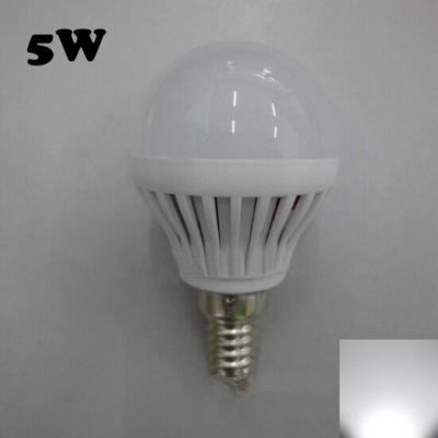 E14 5W SMD2835 180° PC 220V Cool White LED Globe Bulb