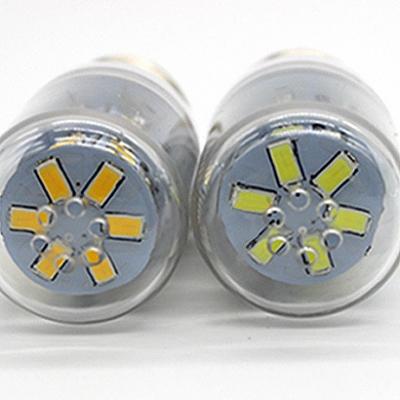 100lm 3500K 10Pcs E27 220V 24-Leds Corn Bulb