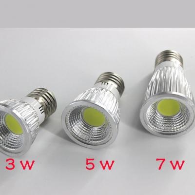 3000K 5W 10Pcs 220V E27  110lm LED COB Par