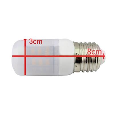 220V 300lm E26-5730 3000K  3.6W LED Bulb