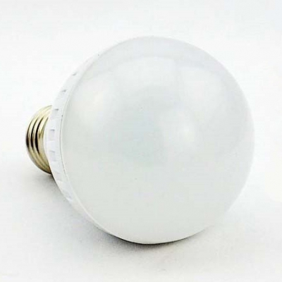 9W 6000K 360lm 180° 30LED-2835SMD  E27 Globe Bulb