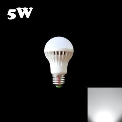 6000K E27 5W Sound & Light Controlled  LED Bulb