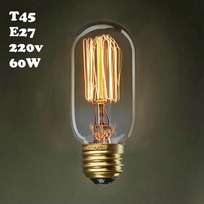 60W 220V T45 E27 Mini Edison Bulb