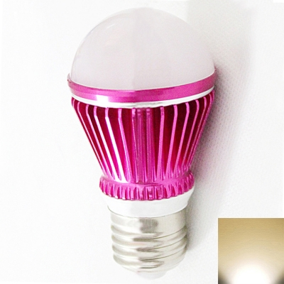 Rose Red 300lm E27 3W  Warm White Light