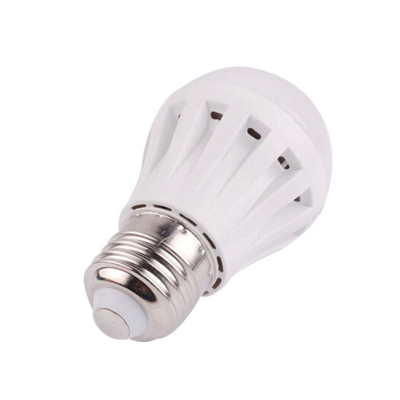 2835SMD E27 1W PC LED Globe Bulb Cool White Light