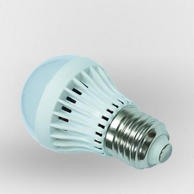 2835SMD E27 3W Warm White Plastic LED Globe Bulb