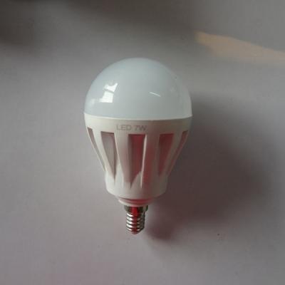 Cool White 7W 220V E14  LED Globe Bulb 2835SMD 180°