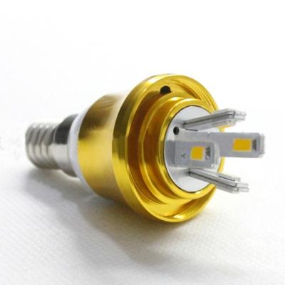 E14-5730 Cool  White  AC85-265V 5W LED Candle Bulb