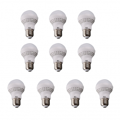 60*100mm E27 5W 110V Warm White Light LED Bulb