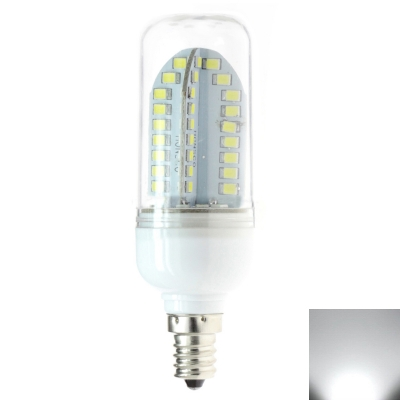220V E27 6W 84LED-2835 Cool White Light