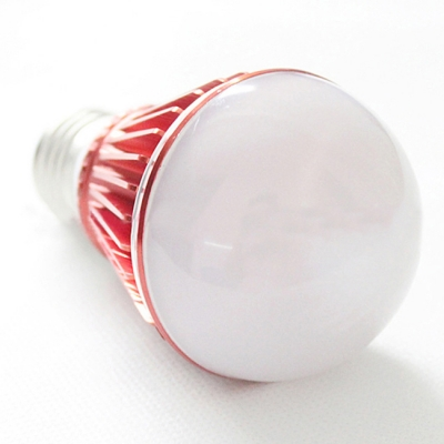 E27 3W Cool White Light Red 300lm LED Globe Bulb