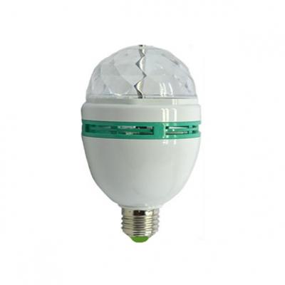 RGB Colorful 110-220V E27 3W Mini LED Ball Bulb