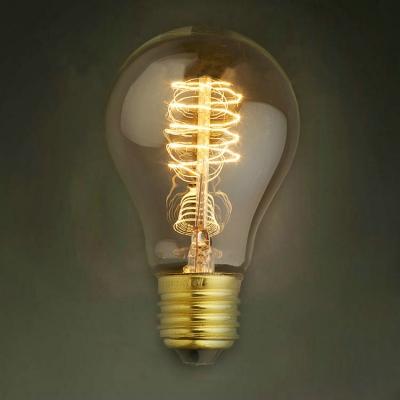 Spiral A19 220V  E27 40W Edison Bulb