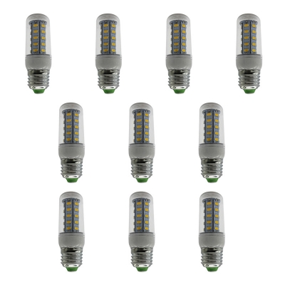 10Pcs 7w  100lm 6000K E27 220V 24-Leds Corn Bulb