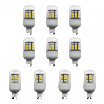 3500K 10Pcs G9 220V 24-Leds Corn Bulb
