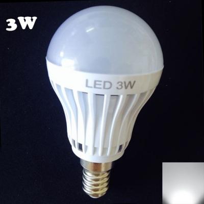 3W 27Leds 180° E14  Cool White Light Globe Bulb