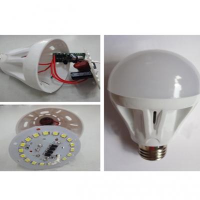 5Pcs 220 E27 5W SMD2835 Cool White Light Ball Bulb