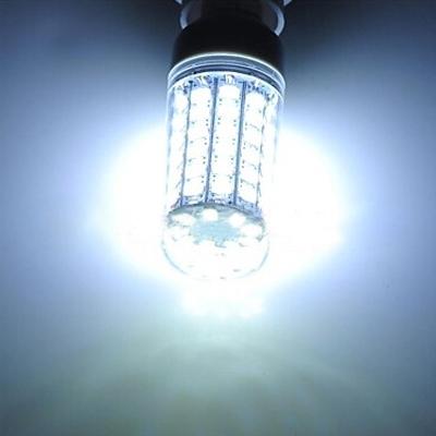6500K 220V E27 6W Clear LED Corn Bulb