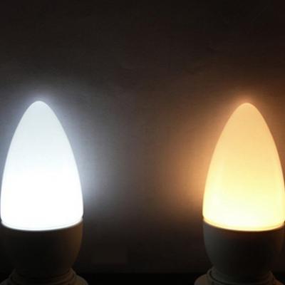 8Leds 360° E14 3W 85-265V LED Candle Bulb