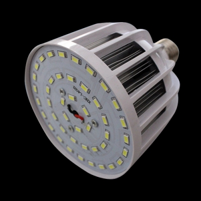 LED Globe Bulb PC Material 72Leds E27 50W 6000K