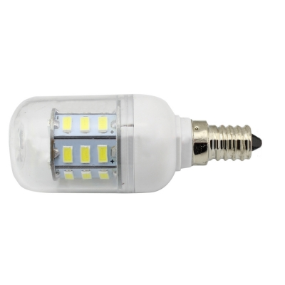 Clear 300lm 85-265V 3.6W LED Bulb E12 6000K 2Pcs