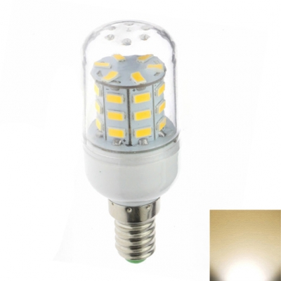 110V 30LED E12 3W Yellow Light Clear Shade LED Corn Bulb