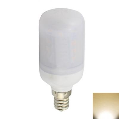27-5730SMD Frosted E12 Bulb 3.6W 9-30V 3000K