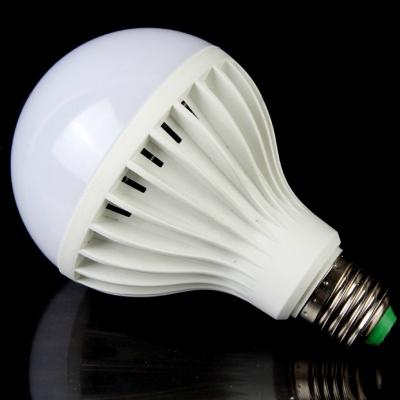 6000K E27 3W Sound & Light Controlled  LED Bulb
