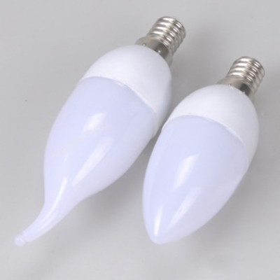 Cool White 250lm E14 3W 85-265V LED Candle Bulb