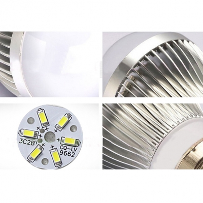 Cool White Light  5W 10Pcs E27  6Led-5730SMD