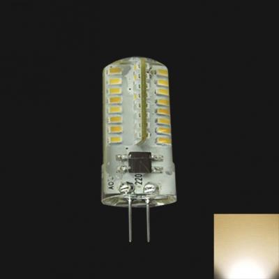 G4 220V 2.6W 64-Leds Warm White Mini Blub