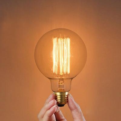 G80 80*120mm 220V  E27 40W Edison Bulb