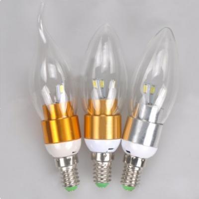 Golden E14 5W 85-265V LED Candle Bulb