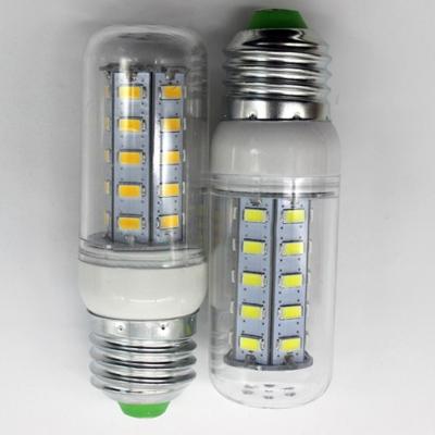 10Pcs 7w 100lm 3500K E27 220V 24-Leds Corn Bulb