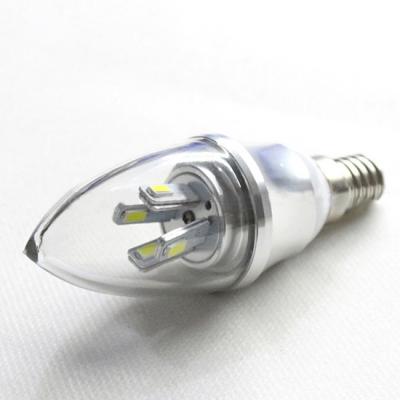 4W LED Candle Bulb E14-5730 AC85-265V