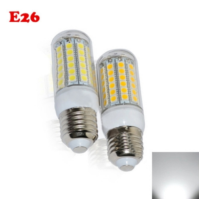 5050SMD E27 6.5W PC 6000K LED Corn Bulb