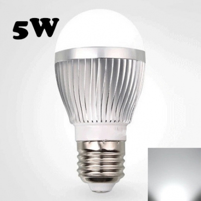 LED Globe Bulb  220V Cool White E27 5W