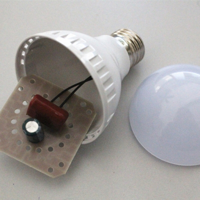 Warm White Light 300lm E27 7W  LED Ball Bulb